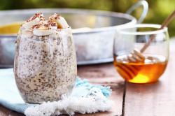banana chia pudding