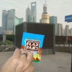 This Flax Paks traveled with Helen across the world!