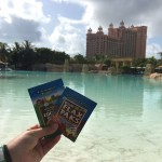 Steve brings his Paks with him to the Atlantis in the Bahamas.