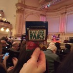 Karen and Lynn enjoy Flax Chia Paks as much as the concert they saw at Carnegie Hall!