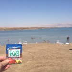 What could be healthier than flax chia paks and a mineral rich mud bath at the Dead Sea?
